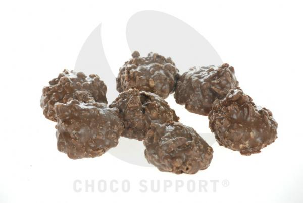 Chocolade clusters